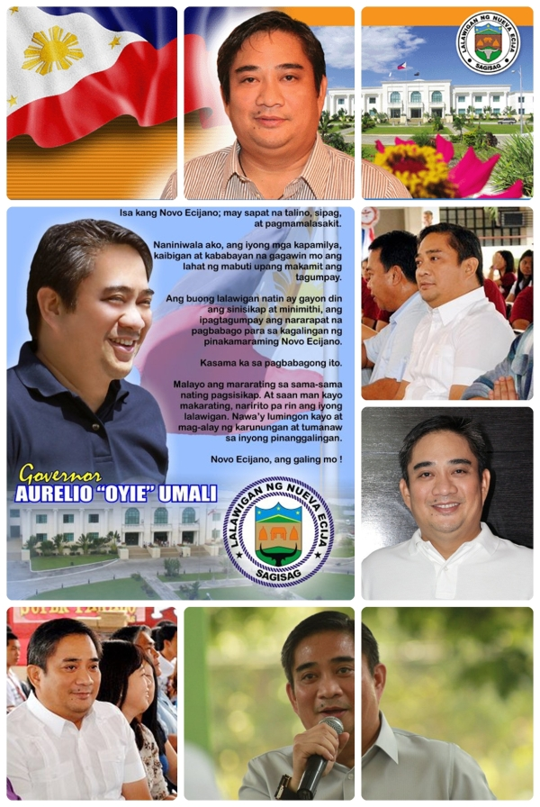 from http://www.lpp.gov.ph/GovernorsProfile/umali.html http://www.facebook.com/photo.php?fbid=272044929487931&set=a.154028197956272.31545.100000472781017&type=3&theater http://www.facebook.com/photo.php?fbid=137849696248694&set=t.100000472781017&type=3&theater http://www.facebook.com/photo.php?fbid=1729326276371&set=t.100000472781017&type=3&theater http://www.facebook.com/photo.php?fbid=119123134774063&set=t.100000472781017&type=3&theater