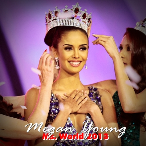 Megan Young of the Philippines, 2013 Miss World