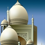 arabian_style_mosque_on_sky_background