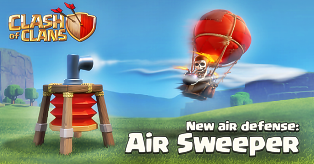 The gallery for --> Air Defense Clash Of Clans